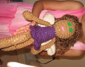 Crocheted Yarn Fairy Doll