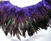 purple rooster feathers , bulk, lot, wholesale, feather supply, hair extentions
