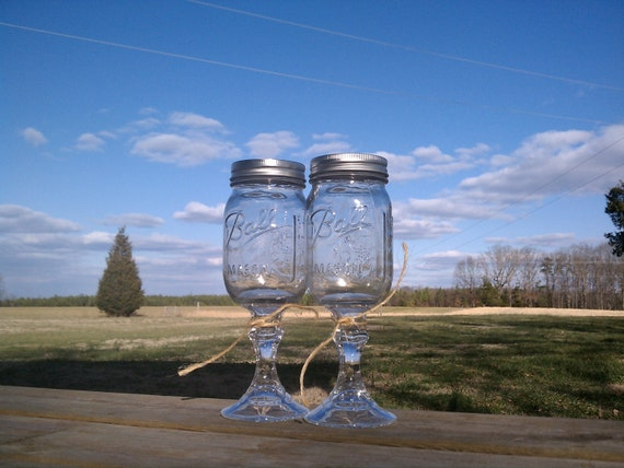 FREE SHIPPING,Redneck Wine Glass, 8 or 16 oz , Redneck Wine Glass