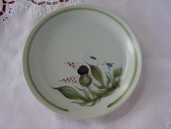 Vintage Scottish Buchan Portobello Thistle and Blue Bell Bread Plate