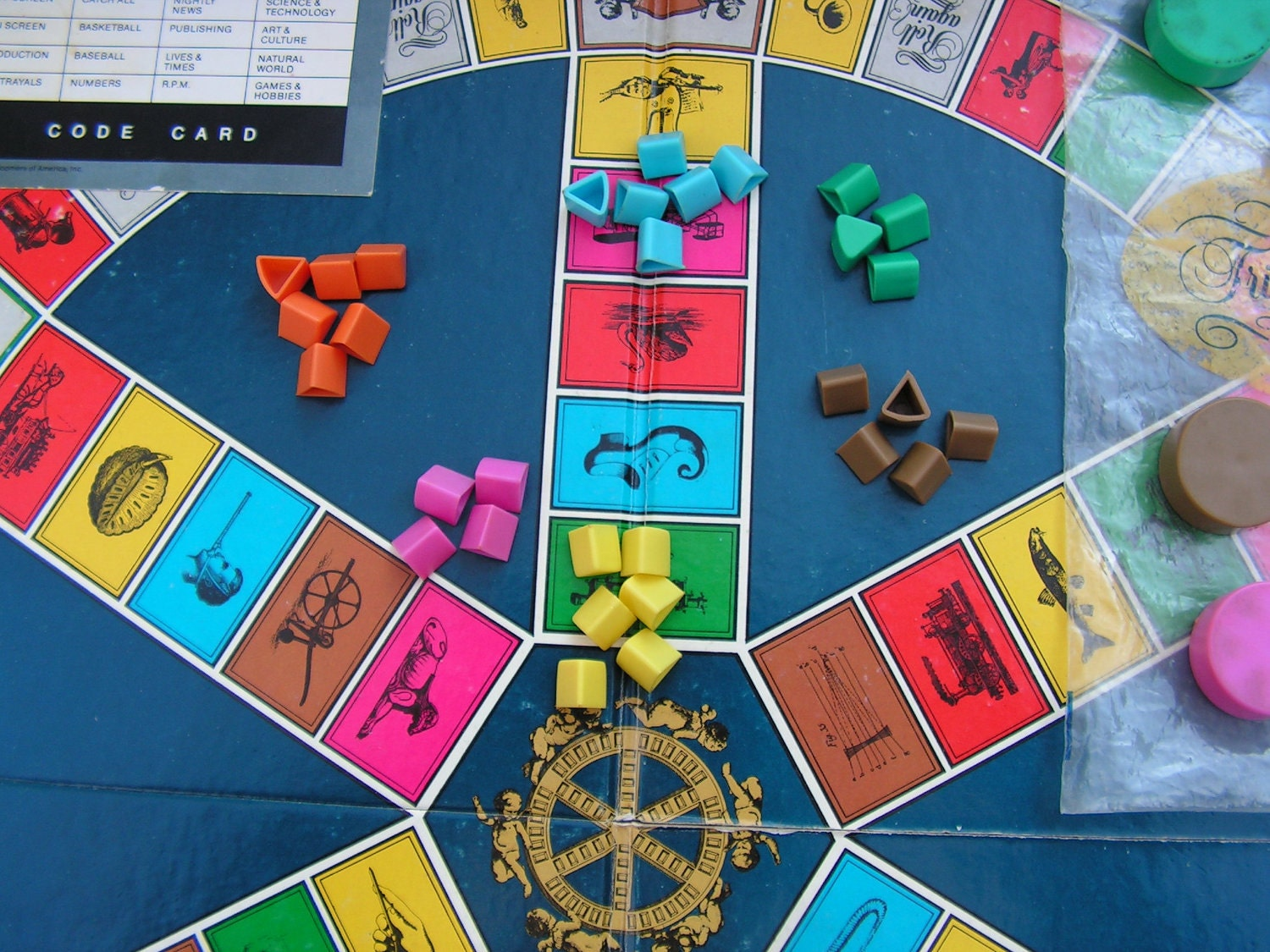 Trivial Pursuit Cards, Questions, and Answers