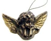 Handmade Artisanal Beeswax Ornament - Small VICTORIAN CHERUB