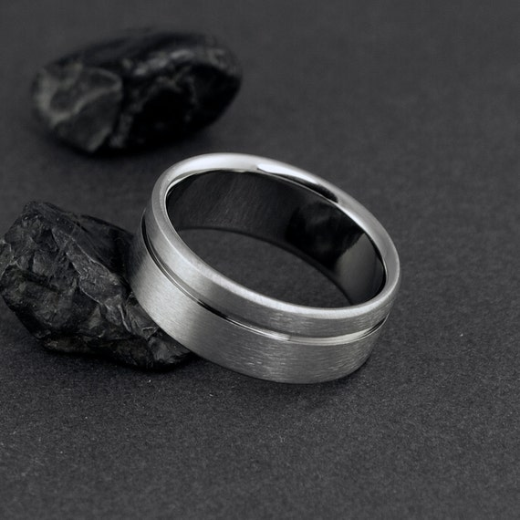 Titanium Wedding Band, Titanium Ring, Wedding Ring, Mens Titanium Ring, Womens Titanium Rings, Titanium Jewelry, Titanium Engagement Ring