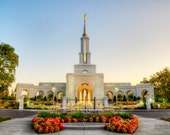 11x14 Print - Sacramento LDS Temple