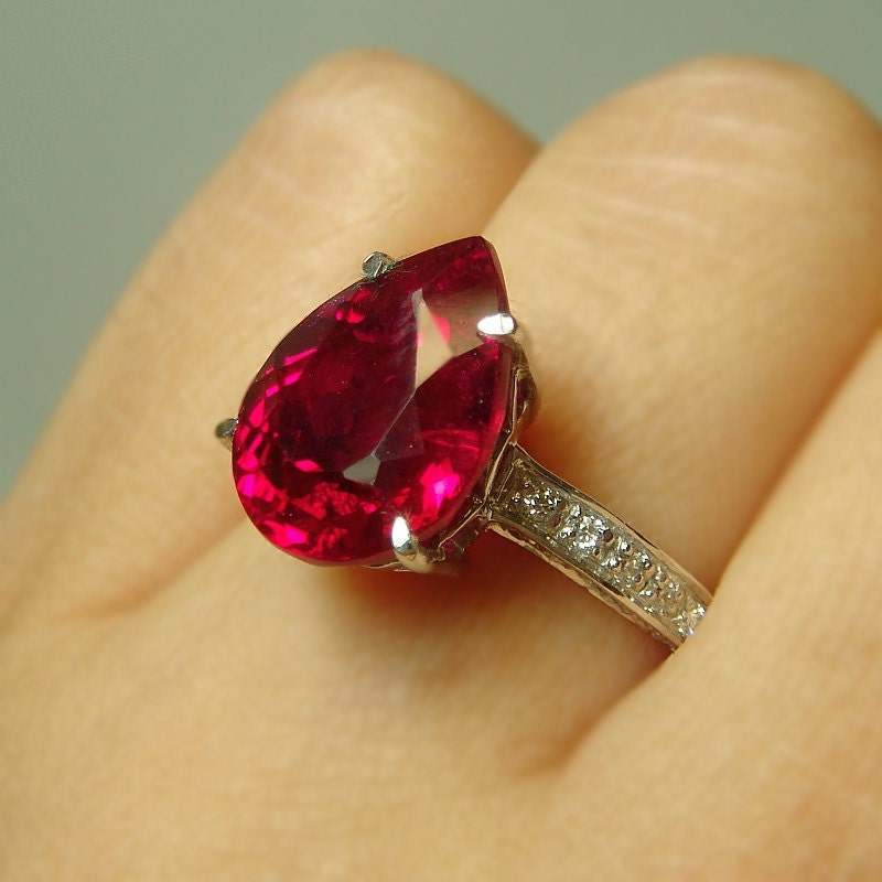 6ct topaz solitaire engagement ring right by