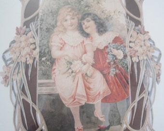 Friends Victorian keepsake