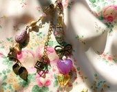 Springlicious Aspiration - OOAK Whimsical Charm Necklace
