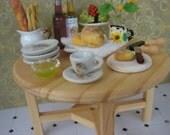 Dollhouse Miniature Cherubs Tea Cup and Saucer 2 piece