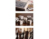 RESERVED FOR FALLON - Game Room Trio - 5x7 Fine Art Photographs