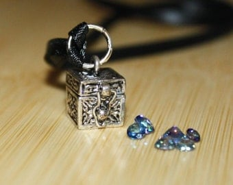 Tiny Treasure Chest Pendant