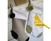 Christmas Stocking PDF (INSTANT DOWNLOAD Sewing Pattern)