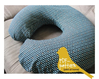 Nursing Pillow Cover (INSTANT DOWNLOAD Sewing Pattern)