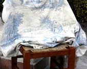 Antique French Toile du Jouy