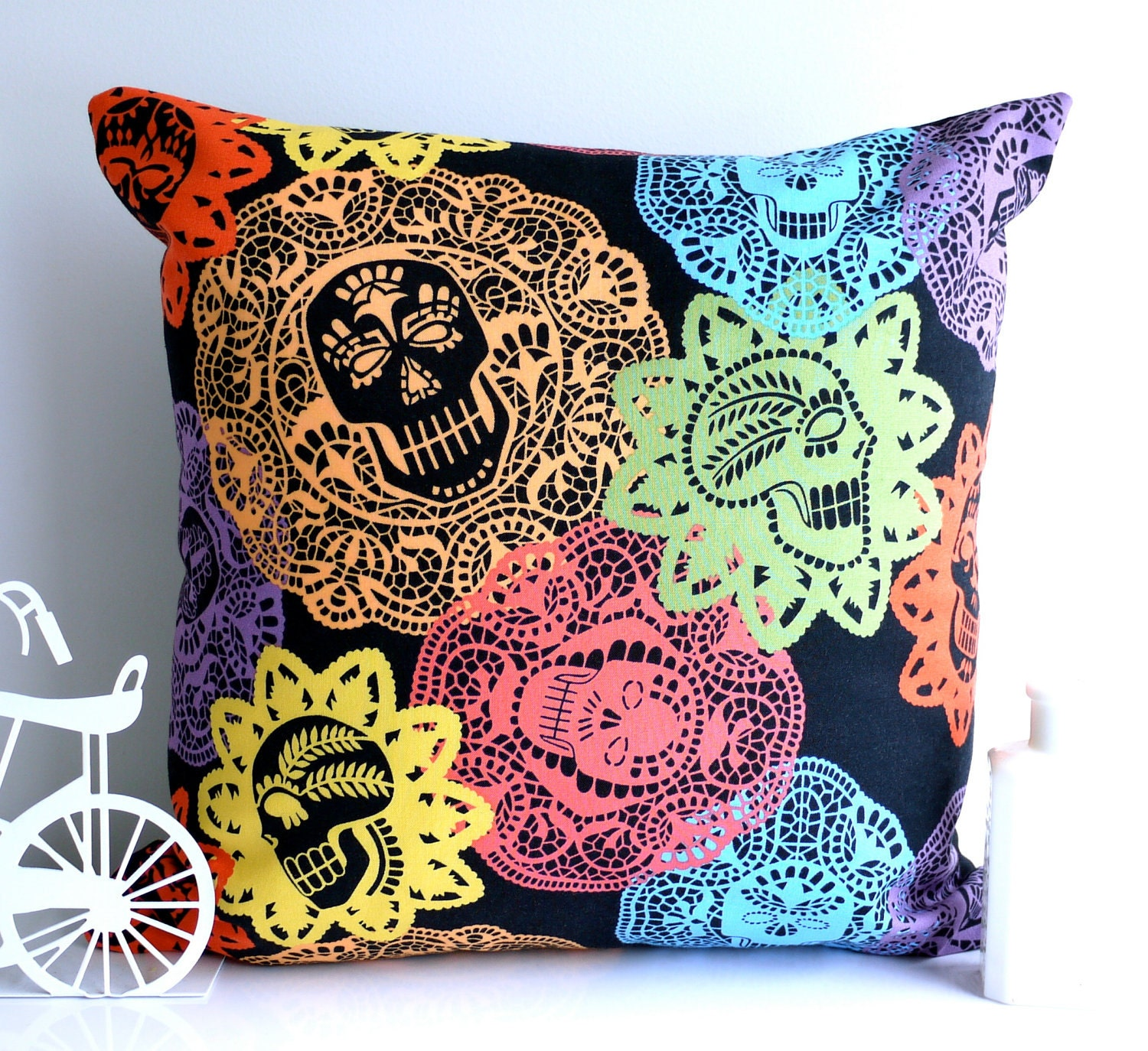 A Skull Cushion – Craftbnb