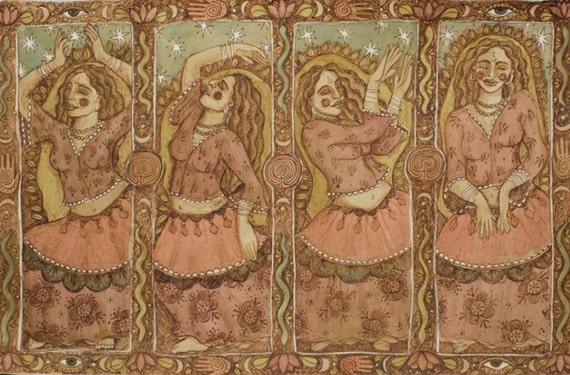 PRINT-The Goddess Dances
