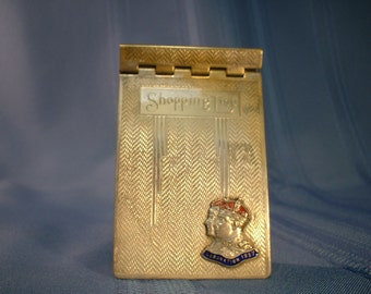 Shopping List Tablet for the Coronation 1937 of King George VI and Queen Elizabeth