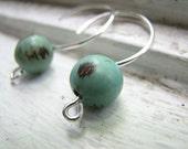 Aqua Acai Earrings organic vegan jewelry