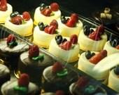 Cheesecake 8X10 Fine Art  Photo Photograph Print Dessert Pastries Prestis Italian Bakery Little Italy Cleveland Ohio