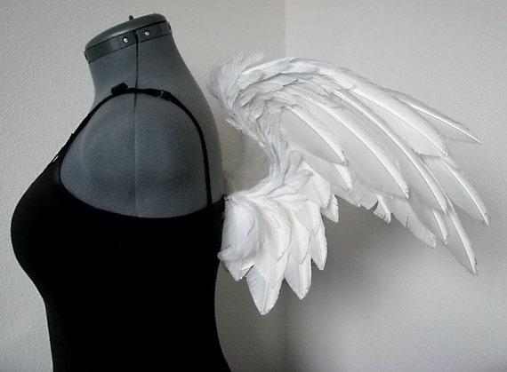 "White Angel Costume Wings - Handmade - ""Cielo"""