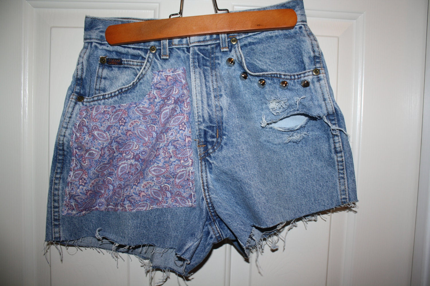high waisted shorts designs - photo #1