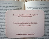 Jane Eyre Quote Cards