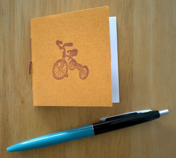 Tiny Tricycle Notebook