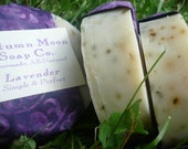 Lavender All-Over Bar Soap, ALL-NATURAL, palm-free, vegan, conditioning shampoo bar, solid shampoo
