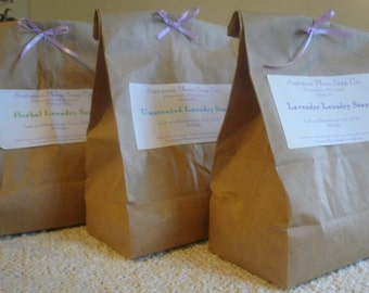 Laundry Soap, 48 loads, Laundry Detergent, All-Natural, Eco-Friendly, Choose your scent, over 1.5 lbs.