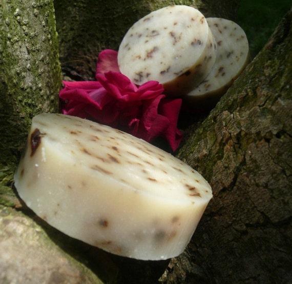 Rosewood-Cedarwood Essential Oil Natural Vegan All Over Bar Soap and shampoo bar, solid shampoo