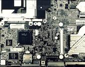 """Computer Parts """"Laptop Autopsy"""" 8 x 12 photograph print"""