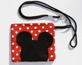 Lanyard Pouch Pass Set mouse ears Theme Park Cruise Disney Christmas Stocking Stuffer