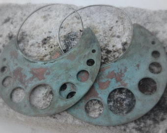 Invoking the Ancient Ones, Around and Back Again Copper discs