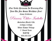 Princess Invitation by Cakewalk