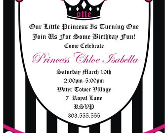 Princess Invitation by Cakewalk