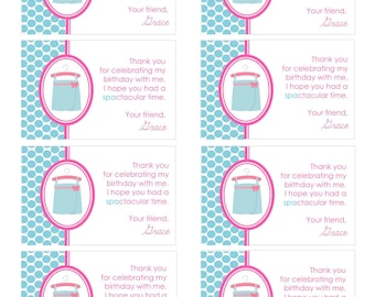 Printable Thank You Tags- Sparty by Bloom
