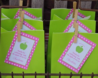 Printable Thank You Tags- Apple of My Eye Party by Bloom
