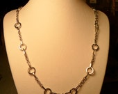 SImple Silver Chain Necklace