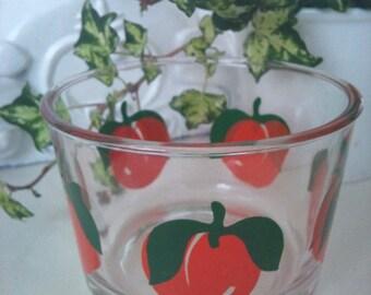 Small 'Apricots' Glass Bowl