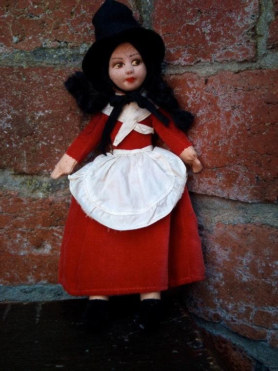 Norah Wellings Vintage Welsh Doll