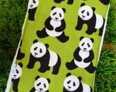 Panda Bear Burp Cloth