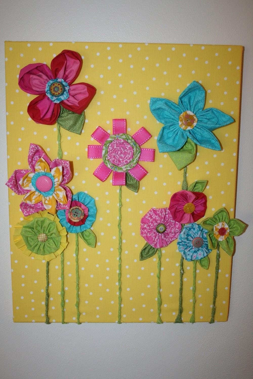 Retro Vintage Children Decor Baby Girl Nursery Decor Fabric