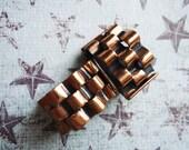 Vintage Renoir Copper Earrings