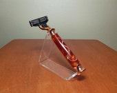Shaver/Razor, Orange Cream, Copper (FREE razor blade, Gillette Mach3) (SALE)
