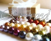 RESERVED for Chelsea, Necklace, Bracelet and Earring sets in 14kgf