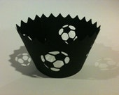 Soccer Cupcake Wrappers (12)