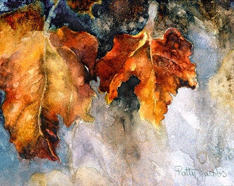 """Note Card - """"Within The Autumn Shadows"""""""