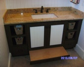 Items Similar To Childrens Bathroom Vanity With Pull Out
