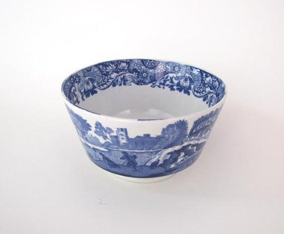 Spode's Italian Blue & White Small Bowl