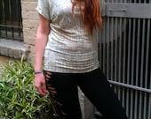Pima Cotton Tunic Top Bamboo Print