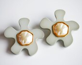 1980s CHANEL Lucite Puzzle Earrings